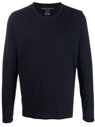 Majestic Filatures Long Sleeve T Shirt Blue