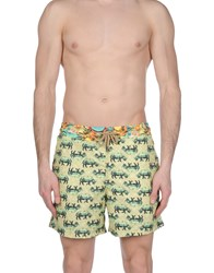 Maaji Swim Trunks Yellow