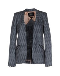 Maison Scotch Suits And Jackets Blazers Women Grey