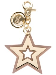 See By Chloe Star Keyring Grey