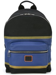 Paul Smith Ps By Zipped Backpack Black