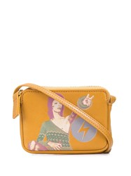 Undercover David Bowie Pint Mini Bag Brown