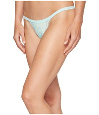Cosabella Never Say Never Skimpie G String Tropical Water Women's Underwear Green