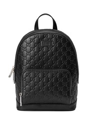 Gucci Signature Leather Backpack Unavailable