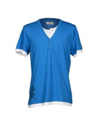 Fred Mello T Shirts Azure