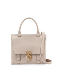 Derek Lam Mini Ave A Leather Satchel Bag Neutral Neutral Pattern