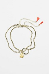 Free People Womens Ball Chain Choker Set