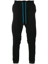 Frankie Morello Drawstring Track Pants Black