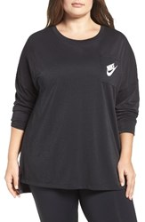 Nike Plus Size Women's Sportswear Signal Top