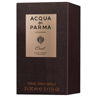 Acqua Di Parma Colonia Oud Eau De Cologne Concentree Travel Refill Spray 2 X 30Ml