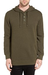 Rvca Men's Capo Hoodie Forest