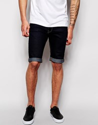 New Look Denim Shorts In Skinny Fit Blue