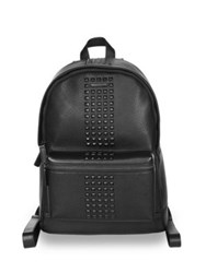 Michael Kors Studded Leather Backpack Black