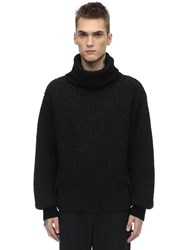 Maison Martin Margiela Wool Turtleneck Sweater Black