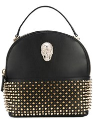 Philipp Plein Studded Backpack Women Leather One Size Black