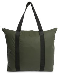 Rains Green Waterproof Tote Bag