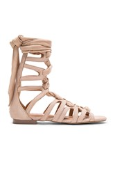 Jaggar Zigzag Turns Sandal Taupe