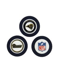 Team Golf St. Louis Rams 3 Pack Poker Chip Golf Markers Navy