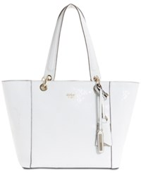 Guess Kamryn Extra Large Tote White