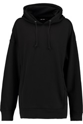 Blk Dnm Cotton Blend Jersey Hooded Sweatshirt