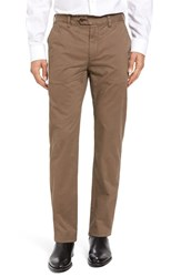 Ted Baker Men's Big And Tall London Slim Fit Chino Pants Brown