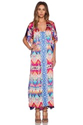 Kas Kendra Caftan Maxi Dress Blue