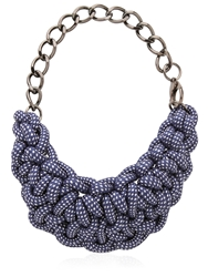 Alienina Odyssee Rope Necklace Blue