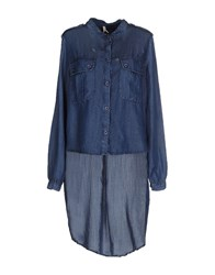 Imperial Star Imperial Denim Denim Shirts Women Blue