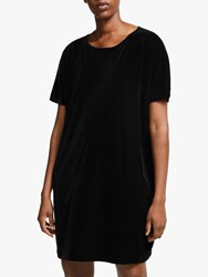 Eileen Fisher Velvet Dress Black