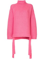 Ellery Wallerian Sweater Pink And Purple