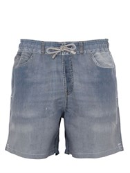 Mc2 Saint Barth Barbados Denim Effect Swim Shorts