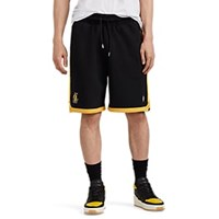 Marcelo Burlon Los Angeles Lakerstm Cotton French Terry Shorts Black