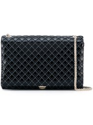 Giorgio Armani Quilted Crossbody Bag Black
