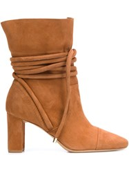 Alexandre Birman 'Betsy' Boots Brown