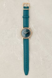 Anthropologie Henry London Stratford Watch Turquoise