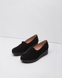 Robert Clergerie Naloh Wedge Slip On Black