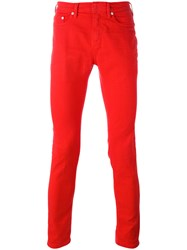 Neil Barrett Skinny Jeans Red