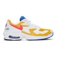 Nike White Air Max2 Light Sneakers