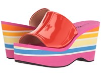 Katy Perry The Casey Red Orange Smooth Patent Women's Shoes