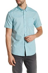 Billabong All Day Chambray Short Sleeve Tailored Fit Shirt Blue