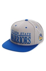Men's Mitchell And Ness 'Golden State Warriors Top Shelf' Snapback Baseball Cap