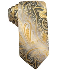 John Ashford Collins Paisley Tie Only At Macy's Yellow