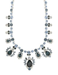 Givenchy Drama Faceted Collar Necklace Silver
