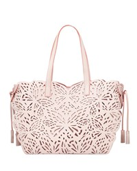 Sophia Webster Liara Butterfly Tote Bag Sunkissed Pink