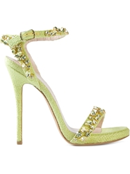 Ermanno Scervino Embellished Sandals