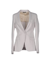 Brian Dales Suits And Jackets Blazers Women Light Grey