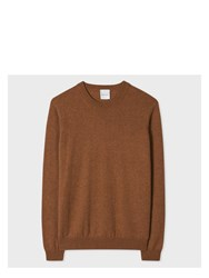 Paul Smith Women's Tan Marl Cashmere Sweater Brown