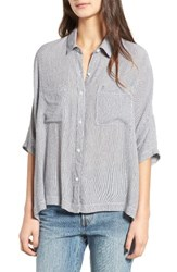 Women's Bp. Stripe Slouchy Shirt
