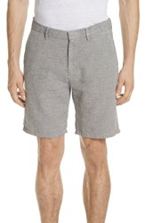 Vilebrequin Panama Linen And Cotton Chino Shorts Limestone