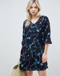 B.Young Abstract Floral Dress Combi 1 Multi
